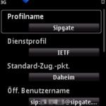 N95 - SIP-Profil