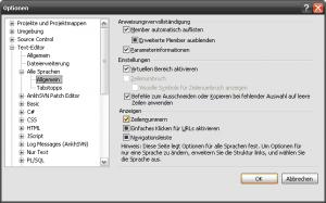 Visual Studio - Zeilennummern